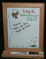 Wooden Stand with dry erase 6 X 7 78 tile.jpg (16590 bytes)