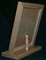 Wooden Stand with dry erase back view.jpg (7372 bytes)